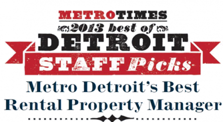 Investment Property Management - Michigan Management and Property Maintenance, LLC. - Metro_Times_Best_Of